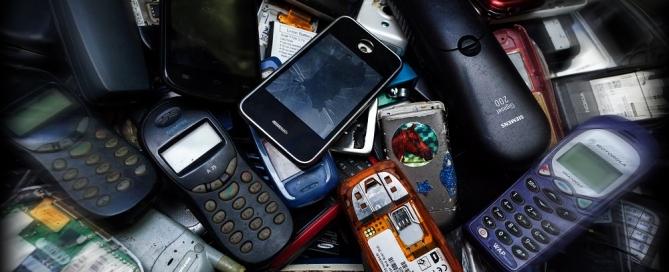 Mobiliųjų telefonų atliekos